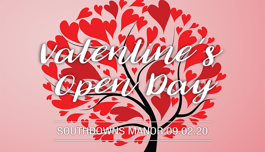 Southdowns Manor Valentines Open Day 2020