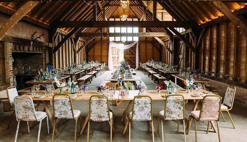 7 of the Best Sussex Barn Wedding Venues