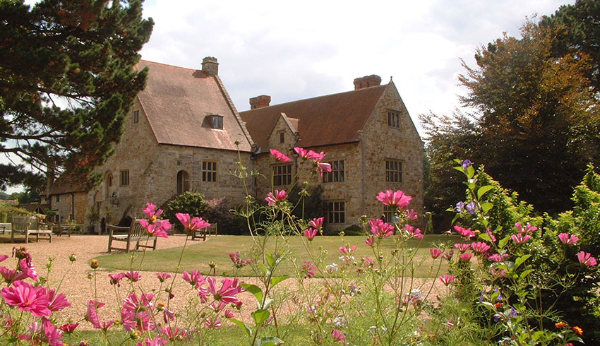 Michelham Priory an East Sussex wedding venue surrounded by beautiful grounds