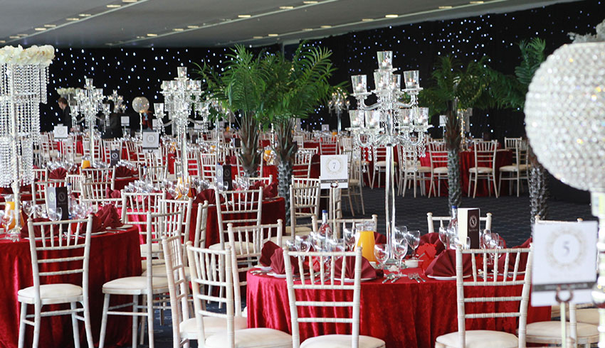 The Racegoers Suite at Newbury Racecourse, this suite can be used for weddings and outside caterers are welcome
