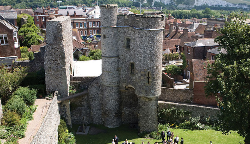Lewes Castle, East Sussex, Fabulous Wedding Venues